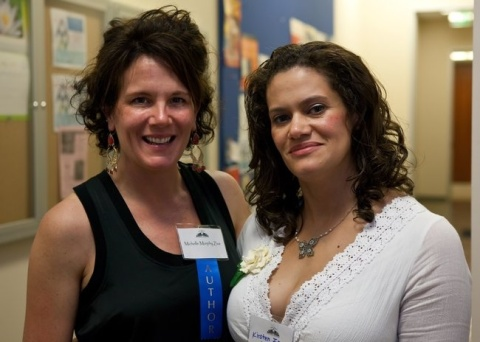 Michelle and Kirsten at the SD Book Awards